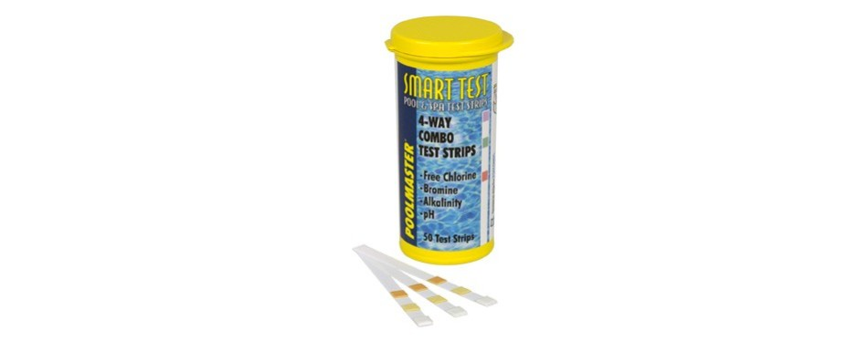 poolmaster 22211 smart test 4-way swimming pool and spa water chemistry test