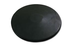 port a pit black rubber 1kg practice discus practice