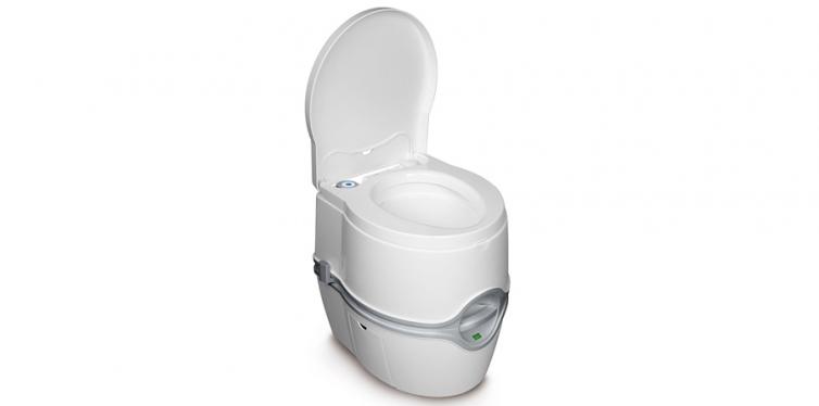 Porta Potti Curve Toilet for RV Travel