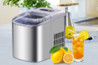 portable ice maker - stainless steel countertop ice maker machine