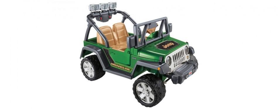 power wheels jeep wrangler