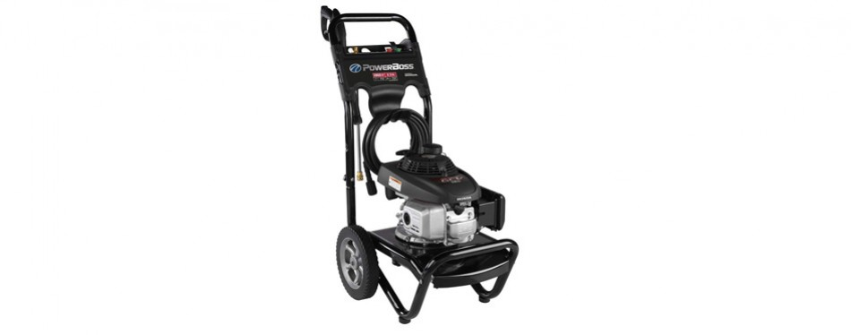 powerboss honda engine gas pressure washer