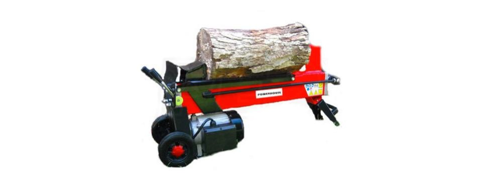powerhouse 7 ton electric hydraulic log splitter