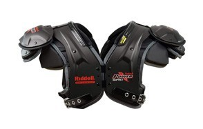 riddell power spk+ adult football shoulder pads