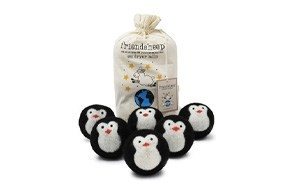 friendsheep 6-pack wool dryer balls