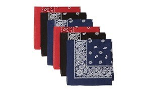 levis mens cotton multi-purpose bandana