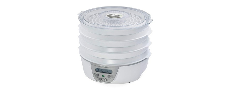 presto digital electric food dehydrator