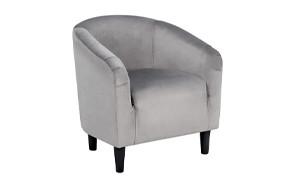 yaheetech velvet accent chair