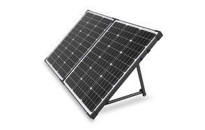 hqst 100 watt 12 volt portable solar panel suitcase