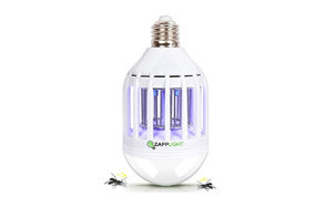 zapplight led 60w bug zapper bulb by bulbhead