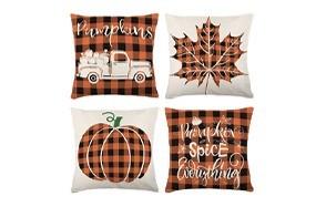 zjhai fall pillow covers