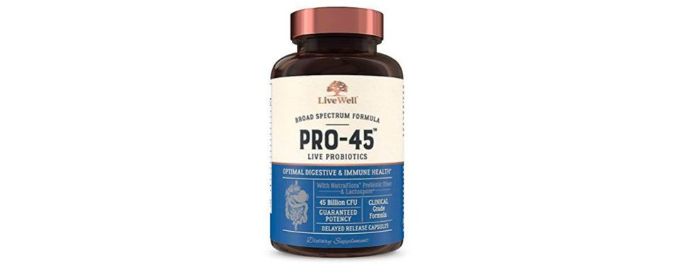 pro-45 clinical grade probiotics