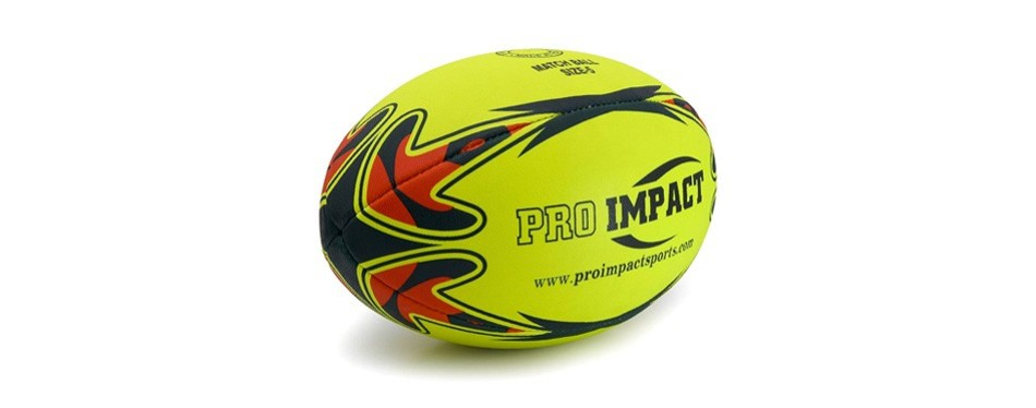 pro impact match rugby ball