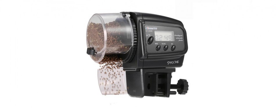 proche digital automatic fish feeder