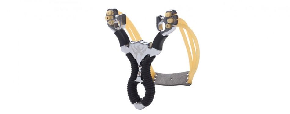 professional stainless steel slingshot set