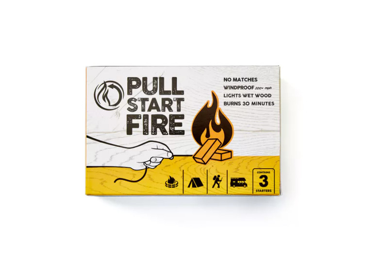 pull start fire pull string firestarter