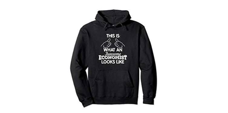 "pullover hoodie – ""this is what an awesome economist looks like"""