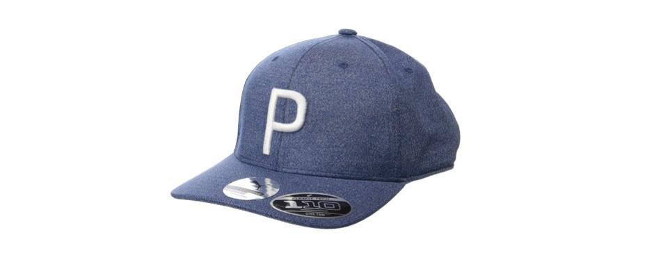 puma golf p snapback hat