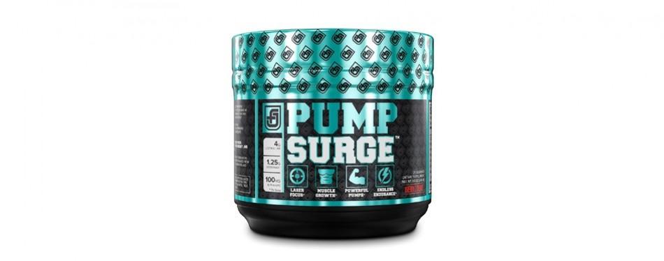 pump surge caffeine-free pre-workout