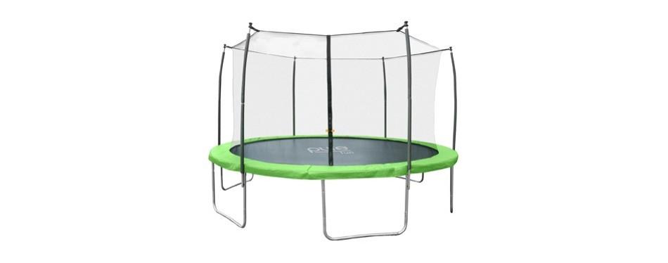 pure fun dura-bounce outdoor trampoline