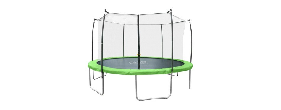 pure fun dura-bounce outdoor trampoline
