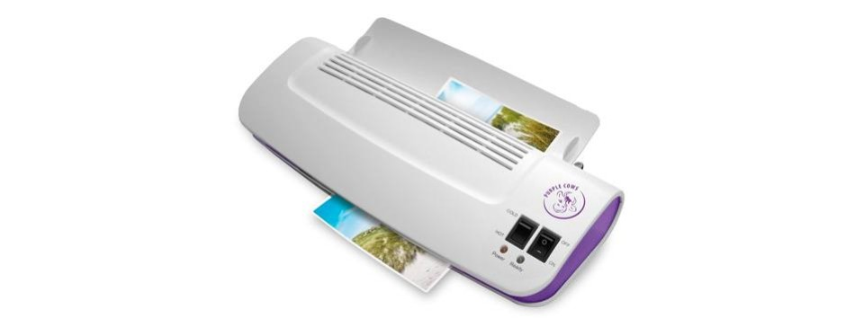 "purple cows hot and cold 9"" laminator"