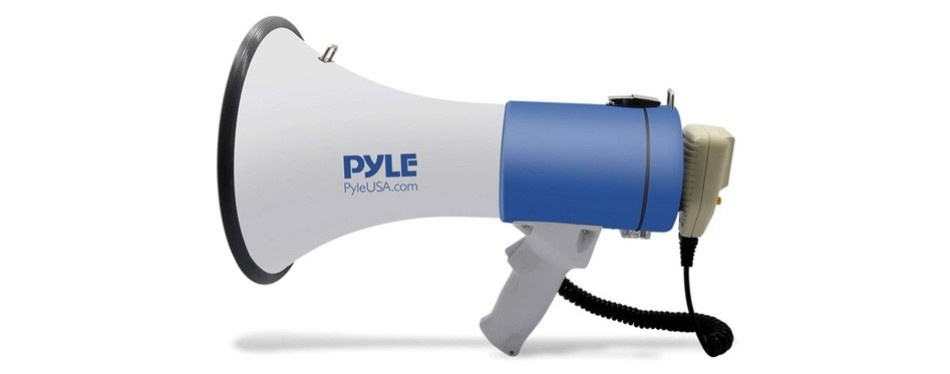 pyle megaphone pa bullhorn speaker
