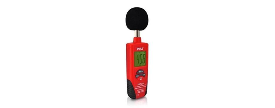 pyle pspl25 digital handheld sound level meter