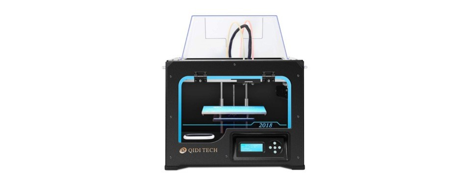 qidi technology dual extruder desktop 3d printer