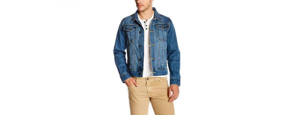 quality durables co. men's regular-fit jean jacket