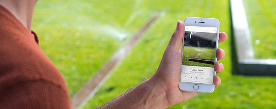 rachio smart sprinkler system controller