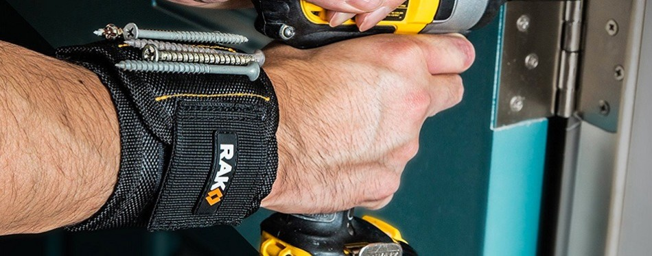 rak magnetic wristband for holding screws