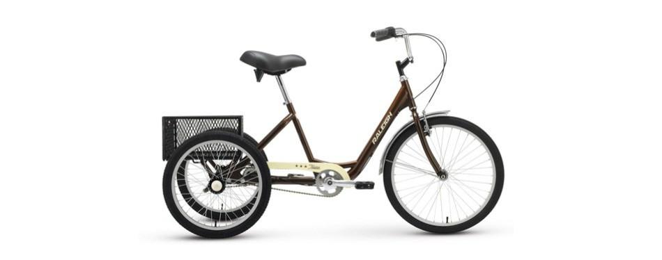 raleigh bikes tristar 3-speed trike