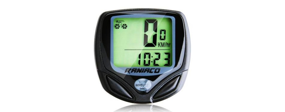 raniaco wireless bicycle speedometer