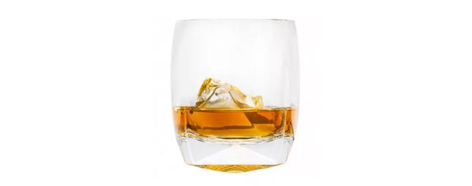 rauk heavy tumbler whiskey glasses