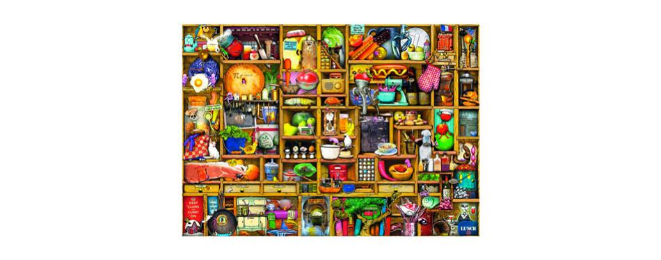 ravensburger - kitchen cupboard - 1000 piece jigsaw puzzle