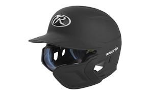 rawlings mach matte baseball helmet