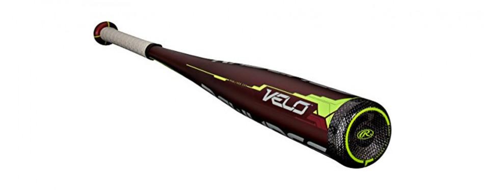 rawlings velo hybrid balanced collegiate baseball bat