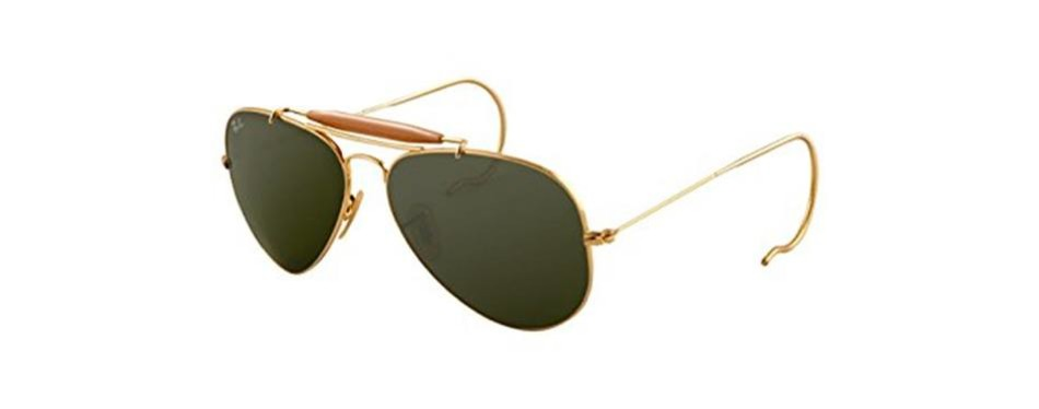 ray-ban outdoorsman 3030 aviator sunglasses