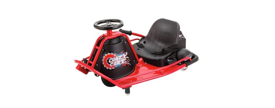 razor crazy cart electric 360 drifting cart