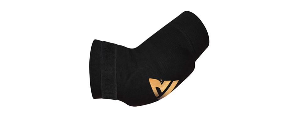 rdx mma elbow support brace sleeve pads
