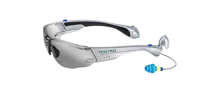readymax soundshield construction safety glasses