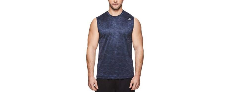 reebok men's muscle tank top