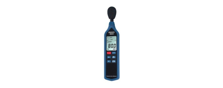 reed instruments r8060 sound level meter with bargraph