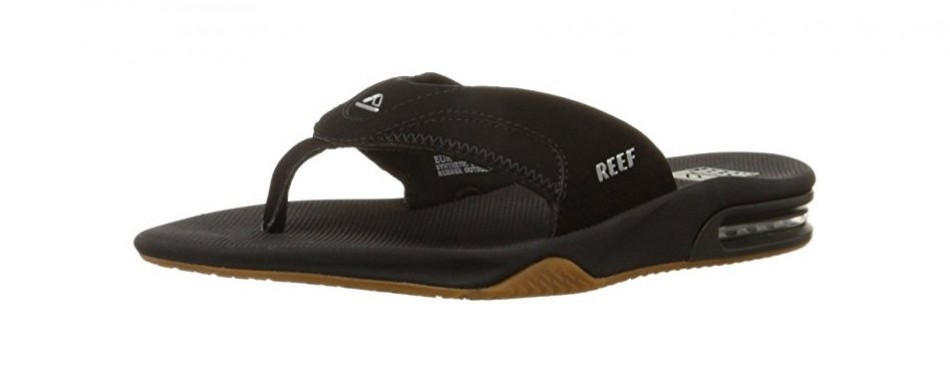 reef fanning men's bottle opener flip flops