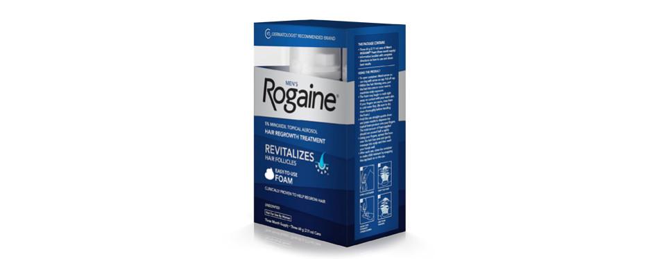 regaine topical hair loss treatment