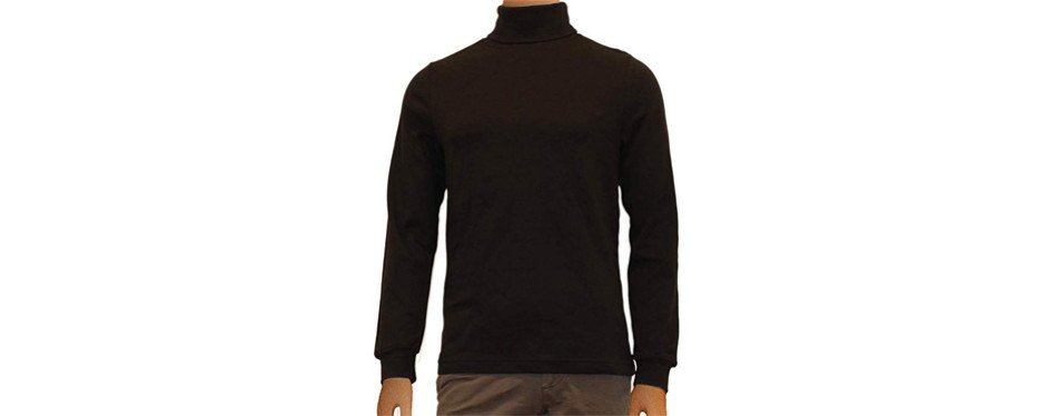 relaxfit casual ski turtleneck