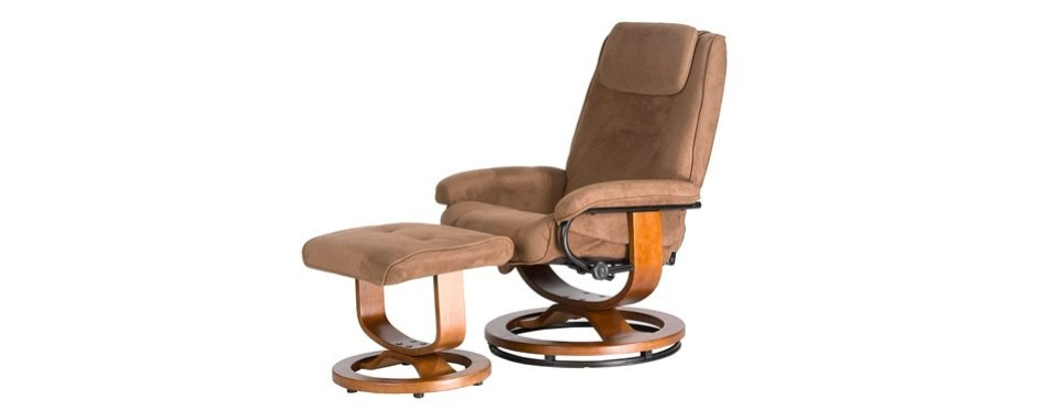 relaxzen deluxe leisure recliner massage chair
