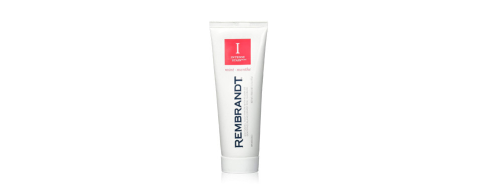 rembrandt intense stain mint flavor toothpaste