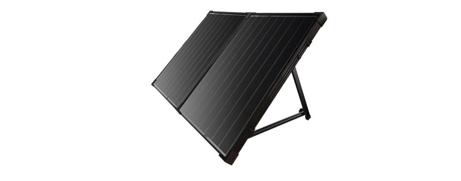 renogy 100 watt off grid portable solar panel